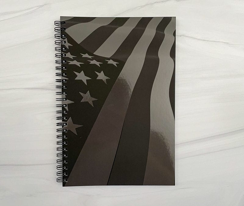 American Flag Define My Day Planner and Journal